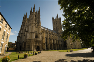 Photograph of Canterbury Cathedral