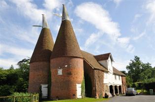 Photograph of Kentish Oast houses