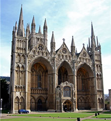 Photograph of Peterborough Cathedral