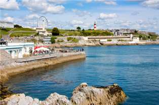 Photograph of Plymouth seaside