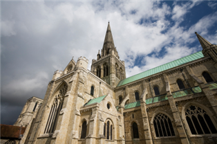 Photograph of Chichester Cathedral in West Sussex