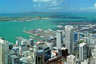 New Zealand sea view